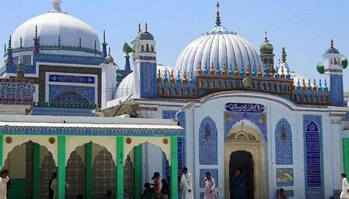 Shrine of Shah Abdul Latif Bhitai. Photo: file