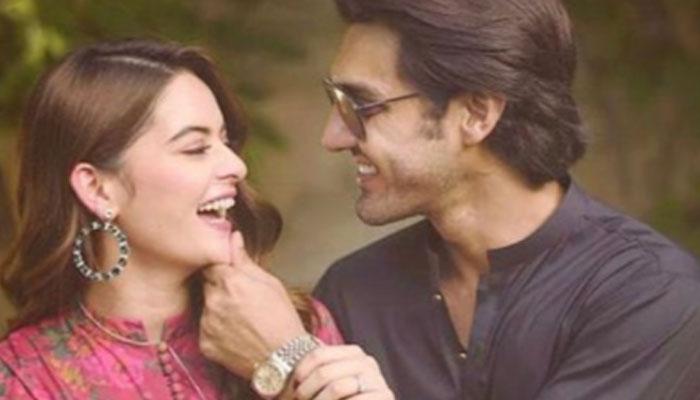 Ahsan Mohsin Ikram feared Minal Khan will run away after wedding: Watch hilarious video