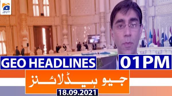Geo Headlines 01 PM | 18th September 2021