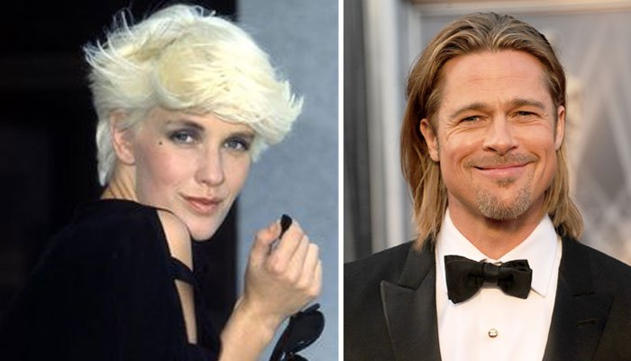 """Brad Pitt was """"infatuated"""" with Paula Yates and the two enjoyed a """"flirtatious"""" relationship"""