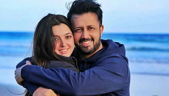 Watch: Atif Aslam, Sara Bharwana exude couple goals in viral wedding video