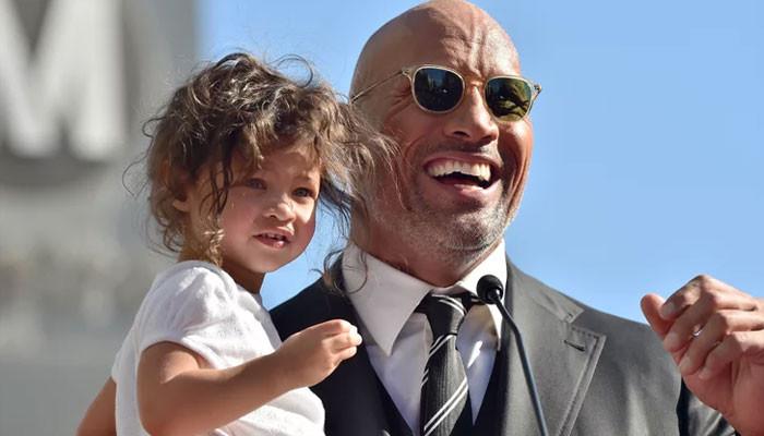 Dwayne Johnson daughter reacts hilariously to 'Black Adam sneak peek