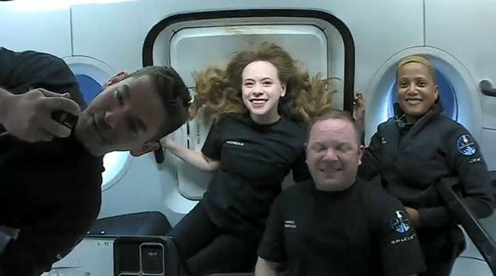 Four SpaceX space tourists return to Earth after three days