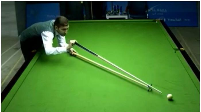 Pakistani cueist Babar Masih wins 2 more IBSF 6-Red World Cup matches