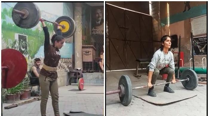 Khadija and Shafaq Dar aim to win gold medal for Pakistan in weightlifting