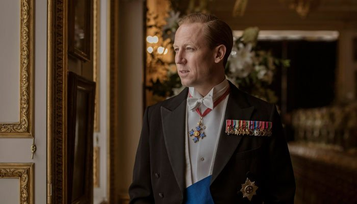 Tobias Menzies opened up about the many similarities he found between Prince Philip and Princess Diana