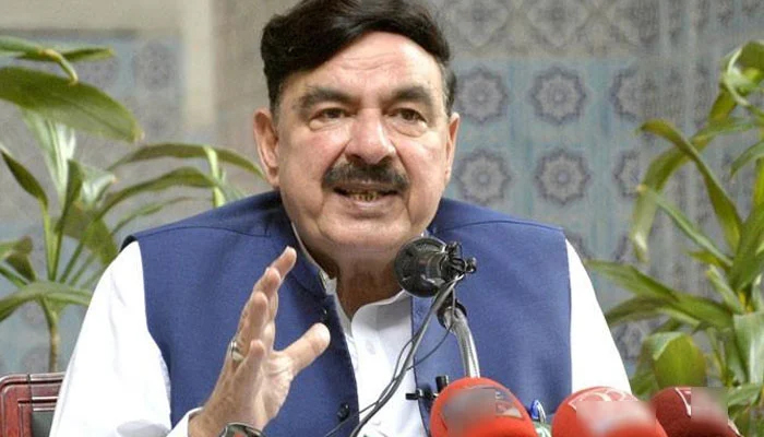 Federal Minister for Interior Sheikh Rasheed. — Jang.com