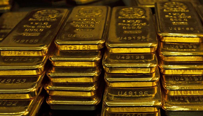 Gold rates in Pakistan are around Rs3,000 under cost compared to the gold rate in the Dubia market. — Reuters/File