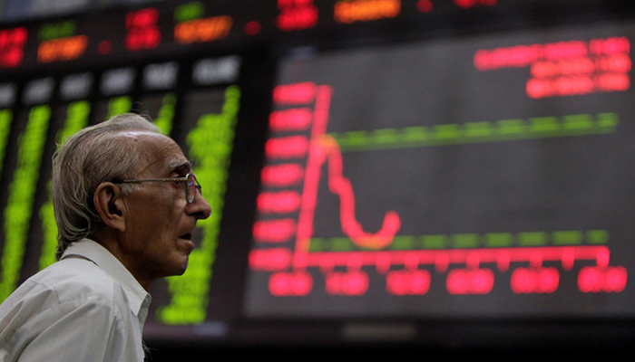 A person is looking at the intra-day curve. — Reuters/File
