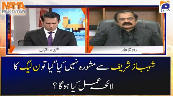Shehbaz Sharif se Mashwara Nahin Kia Gaya to PML-N ka Laih-e-Amal Kia Hoga