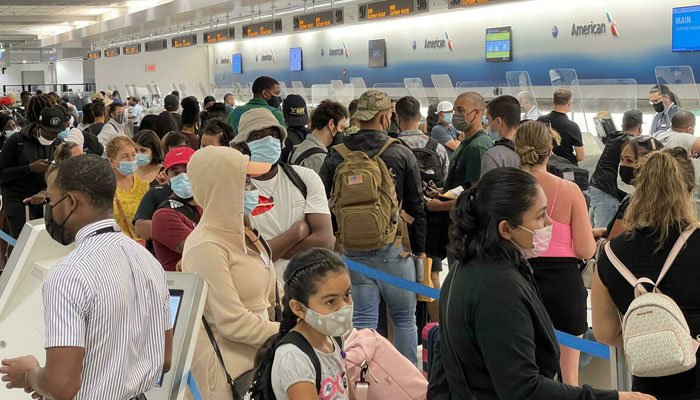 Currently, only US citizens, residents and foreigners with special visas are allowed to enter the United States from most European countries. AFP
