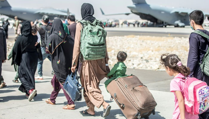 The US will double the number of refugees from Afghanistan in the coming year. AFP