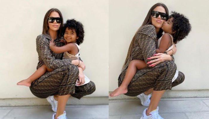 What Khloe Kardashians day with daughter True Thompson looks like - Geo News
