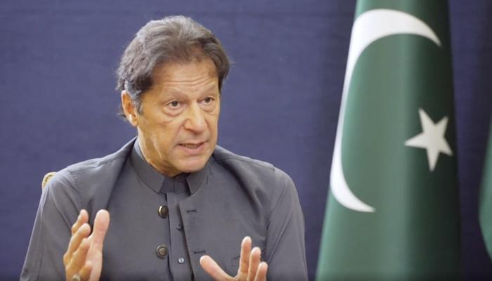 Prime Minister Imran Khan speaks toBBCs John Simpson during an interview, on September 21, 2021. — Screengrab from BBC video