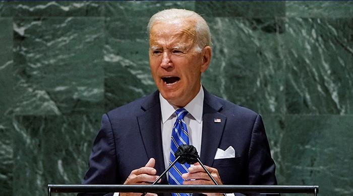 Palestinian state 'best way' to resolve conflict with Israel: Biden at UN