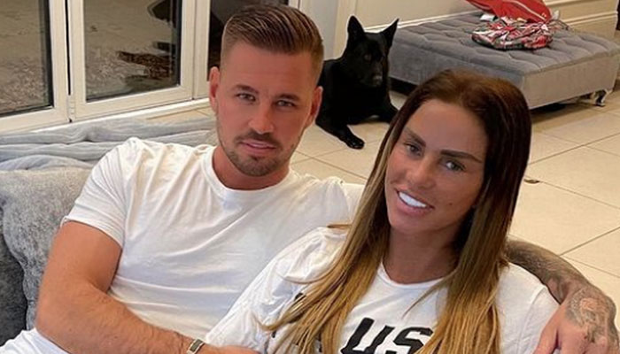 Katie Price's fiance Carl Woods reveals reason behind his absence from social media