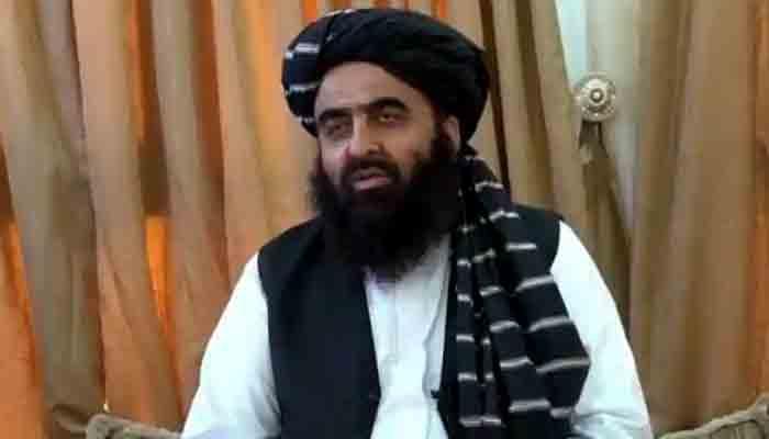 Afghan Foreign Minister Amir Khan Muttaqi.. File photo