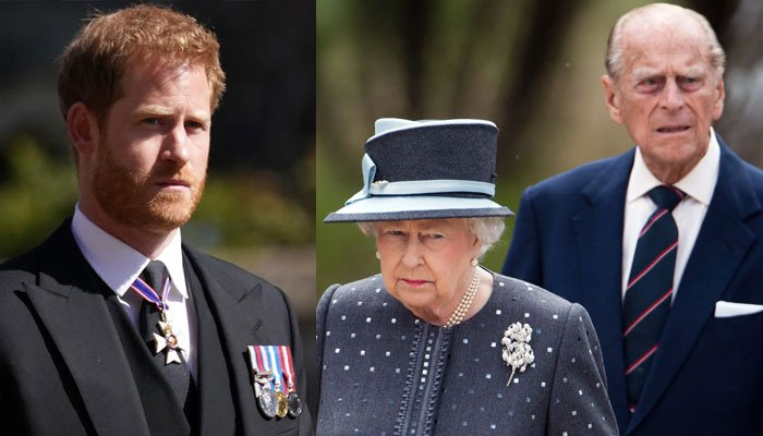 Prince Harry sheds light on grandparents Queen Elizabeth and Prince Philips relationship