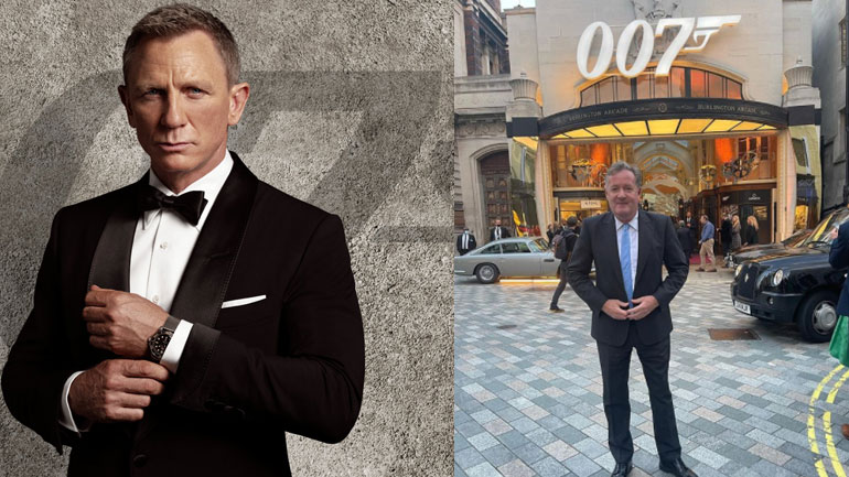 Piers Morgan to replace Daniel Craig as James Bond in next adventure?