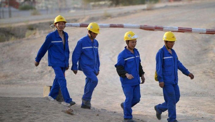 Over 5 million Chinese nationals will be working in Pakistan by 2025. Photo: file