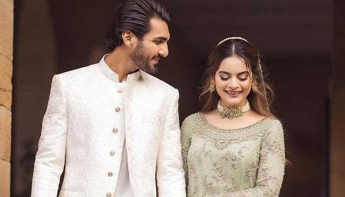 Minal Khan shares a sweet birthday note for husband Ahsan Mohsin Ikram