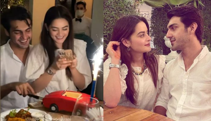 In Pictures: Ahsan Mohsin Ikram celebrates birthday around friends, special cake and Minal Khan