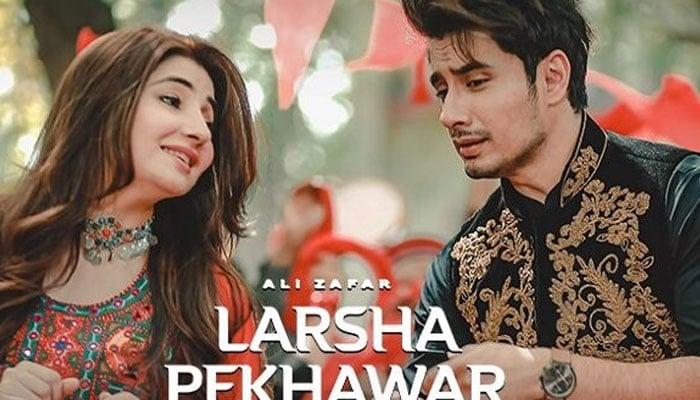 Watch: Ali Zafars new version of Larsha Pekhawar ft. Gul Panra will make you groove