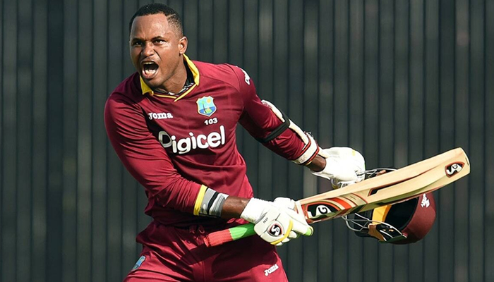 Former West Indies all-rounder Marlon Samuels. — Reuters/File