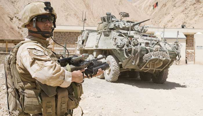 A New Zealand Defence Force personnel deployed in Afghanistan. — Photo courtesy NZDF website