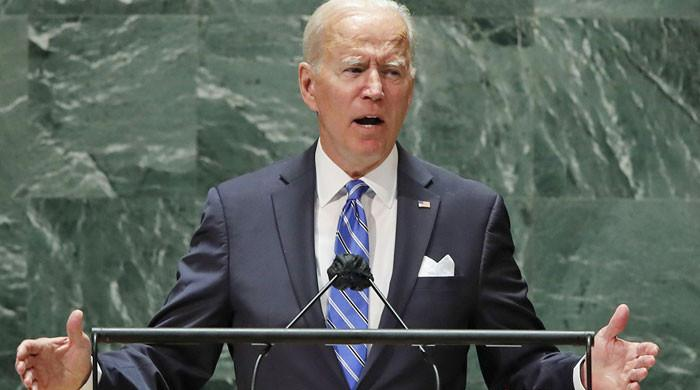 Biden says US not seeking 'Cold War' as he vows to lead