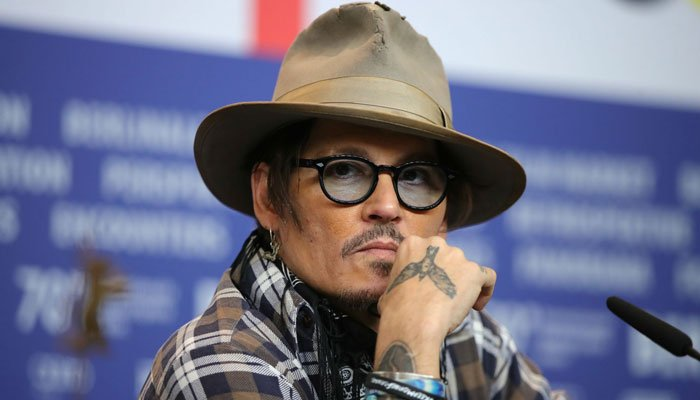 Johnny Depp urges people to stand up against injustice