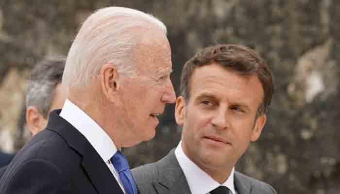 President Joe Biden calls French President Emmanuel Macron after the submarine crisis.