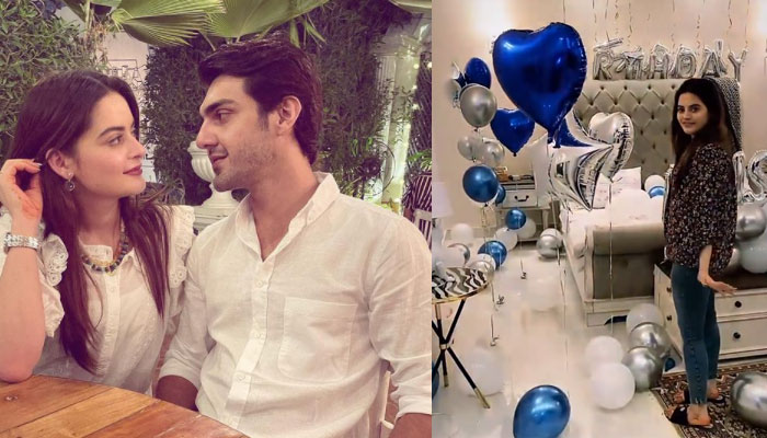 Inside Minal Khans last minute birthday surprise for beau Ahsan Mohsin Ikram