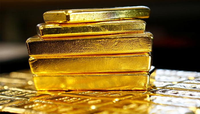 Gold rates in Pakistan are still around Rs1,000 below cost compared to the gold rate in the Dubai market. r— Reuters/File