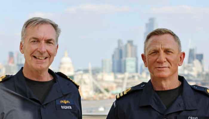 James Bond actor Daniel Craig appointed honorary Royal Navy Commander