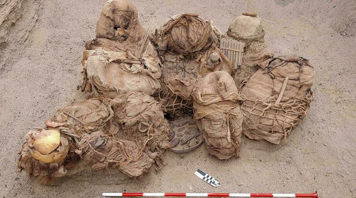 Gas pipe workers find 800-year-old bodies in Peru