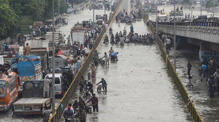 Met department warns of urban flooding in Karachi on Friday