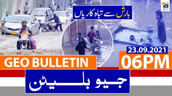 Geo Bulletin 06 PM | 23rd September 2021