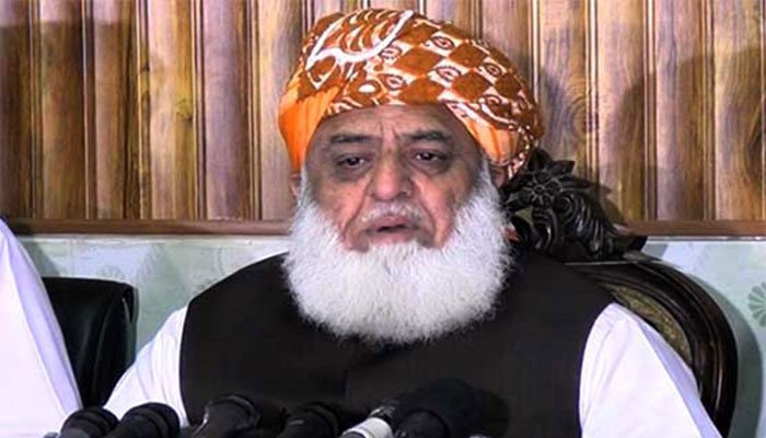 Jamiat Ulema-e-Islam-Fazl chief Maulana Fazlur Rehman. Photo: Geo.tv/ file