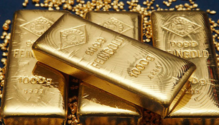 Gold rates in Pakistan are still around Rs1,000 below cost compared to the gold rate in the Dubai market.— Reuters/File