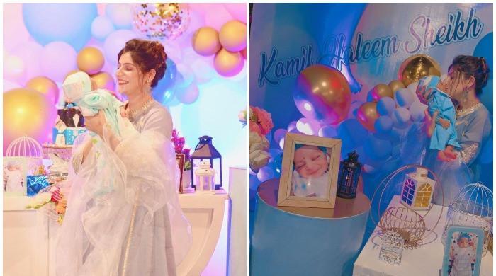 Haleem Adil Sheikh, MPA Tahira Dua Bhutto announce birth of a son