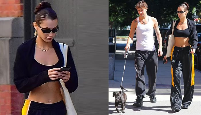 Bella Hadid stuns onlookers with her style as she appears with brother Anwar in NYC