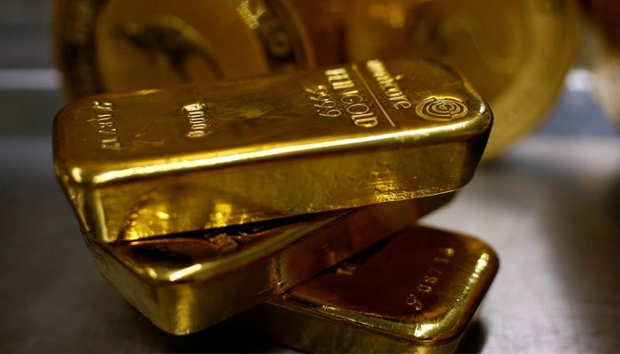 Gold rates in Pakistan are around Rs1,000 below the cost compared to the gold rate in the Dubai market. — AFP/File