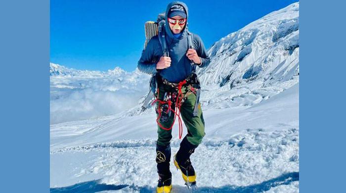 19-year-old Pakistan mountaineer Shehroze Kashif achieves another milestone