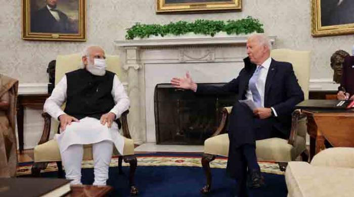 Joe Biden lectures Narendra Modi on Gandhi's philosophy