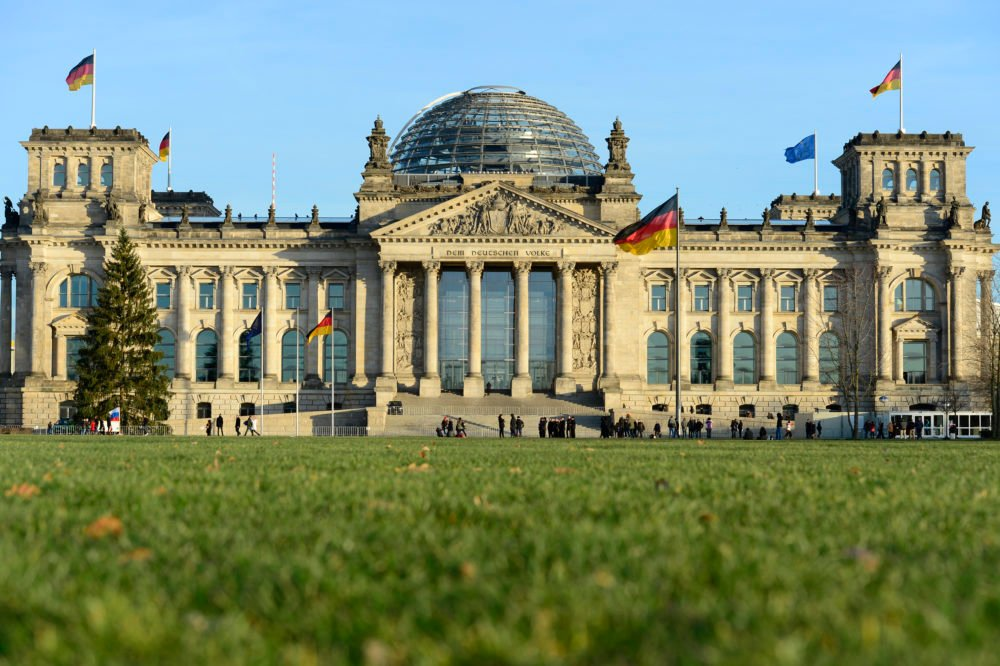 The Reichstag building in Berlin houses the German parliament Bundestag. Photo: AFP