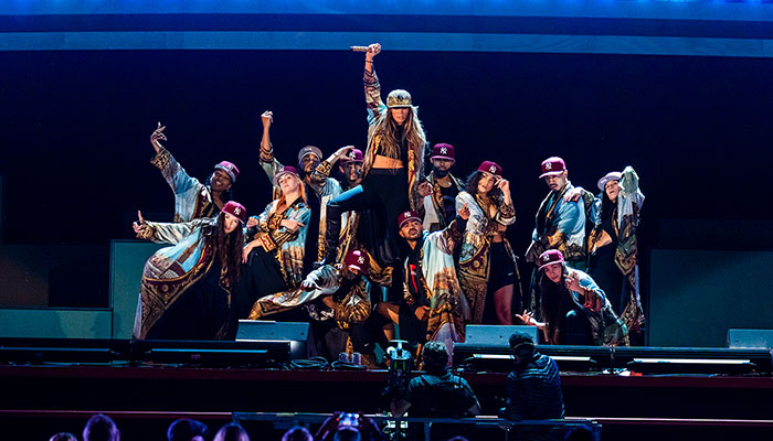 Jennifer Lopez wows onlookers with Global Citizen Live Festival performance