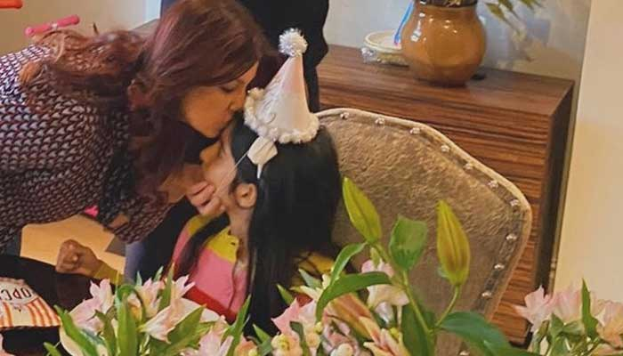 Twinkle Khanna shares a glimpse of her daughter Nitara's 9th birthday celebration