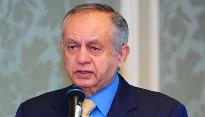 Adviser to Prime Minister on Commerce Abdul Razak Dawood. — APP/File