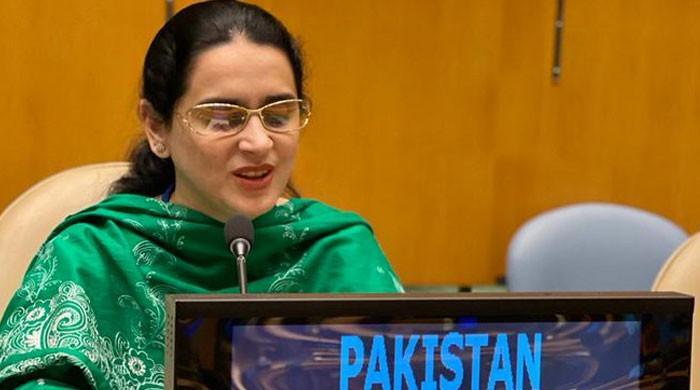 Pakistan's visually impaired diplomat wins praise for impressive UNGA speech